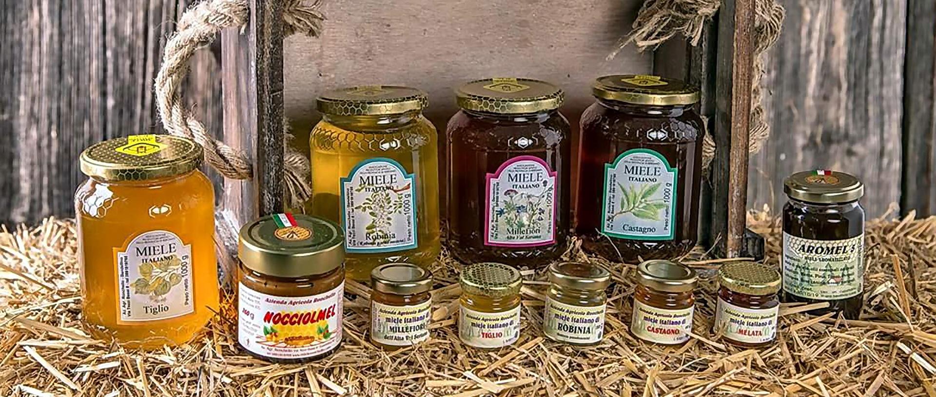 vendita miele barattoli ronchello